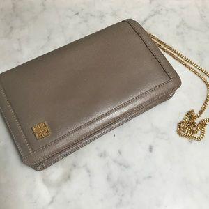 Authentic vintage 80's Givenchy purse bag clutch